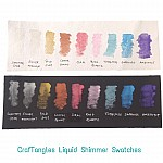 CrafTangles Liquid Shimmer Watercolor (15 ml) - Sapphire