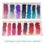 CrafTangles liquid watercolor (15 ml) - Vibrant Violet