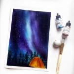 CrafTangles liquid watercolor (15 ml) - Poolside