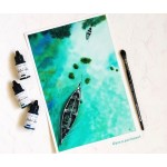 CrafTangles liquid watercolor (15 ml) - Evergreen