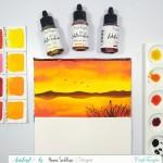 CrafTangles liquid watercolor (15 ml) - Soulmate
