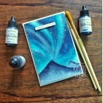 CrafTangles liquid watercolor (15 ml) - Ocean Breeze