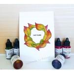 CrafTangles liquid watercolor (15 ml) - Ripe Plums