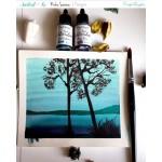 CrafTangles liquid watercolor (15 ml) - Mystical Waters