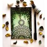 CrafTangles liquid watercolor (15 ml) - Moss Green