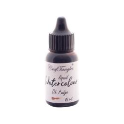CrafTangles liquid watercolor (15 ml) - Oh Fudge
