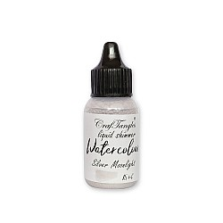 CrafTangles Liquid Shimmer Watercolor (15 ml) - Silver Moonlight