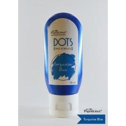 Papericious Fine Acrylic Colour (Dots) (50 ml) - Torquoise Blue