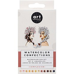 Art Philosophy Prima Watercolor Confections Watercolor Pans 12/Pkg - Complexion