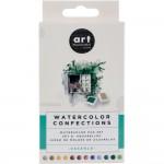 Art Philosophy Prima Watercolor Confections Watercolor Pans 12/Pkg - Essence