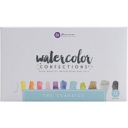 Art Philosophy Prima Watercolor Confections Watercolor Pans 12/Pkg - The Classics