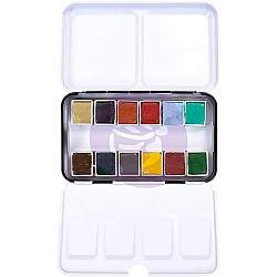 Art Philosophy Prima Watercolor Confections Watercolor Pans 12/Pkg - Woodlands