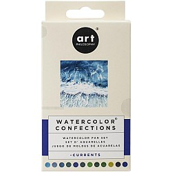 Art Philosophy Prima Watercolor Confections Watercolor Pans 12/Pkg - Currents