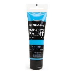 Prima Finnabair Art Alchemy Impasto Paint - Azure (2.5 Fluid Ounces)