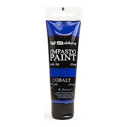 Prima Finnabair Art Alchemy Impasto Paint - Cobalt (2.5 Fluid Ounces)