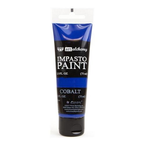 Prima Finnabair Art Alchemy Impasto Paint - Cobalt (2.5 Fluid Ounces)