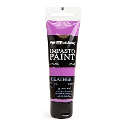Prima Finnabair Art Alchemy Impasto Paint - Heather (2.5 Fluid Ounces)