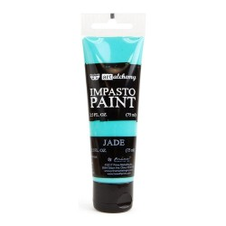 Prima Finnabair Art Alchemy Impasto Paint - Jade (2.5 Fluid Ounces)