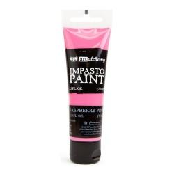 Prima Finnabair Art Alchemy Impasto Paint - Raspberry Pink (2.5 Fluid Ounces)