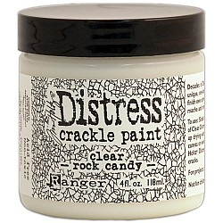 Ranger Distress Crackle Paint - Clear Rock Candy