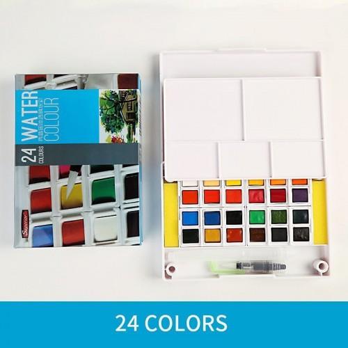 Superior watercolour Set - 24 Colors