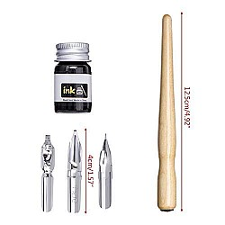 Worison Dip Pen Set For Calligraphy, Drawing, Sketching, Lettering, Professional Art