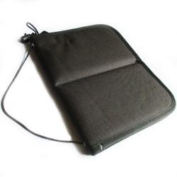 Black Artist  Brush Holder with Zipper - 8x10 inch Foldable