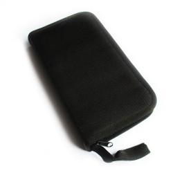 Black Artist  Brush Holder with Zipper - 5x10 inch