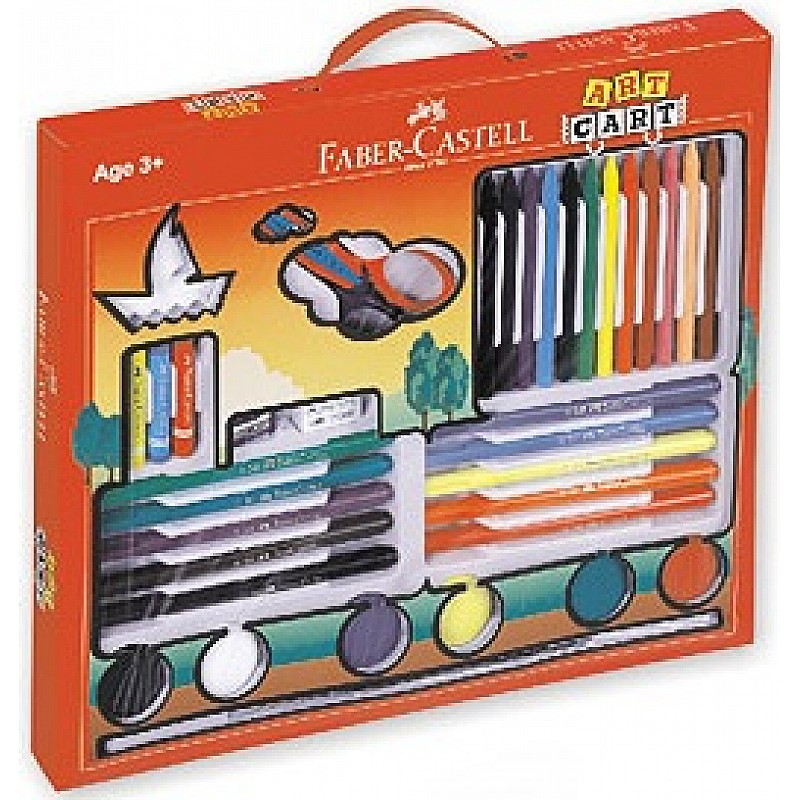 Faber Castell Art Cart Kit F1241394651001 on best eraser for pastels