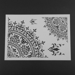 Stencil - Mandala (A4)
