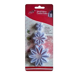 Plastic Fondant Cutter Set - Flower
