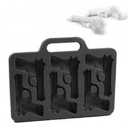 2D Gun Silicone Ice or Chocolate Mold