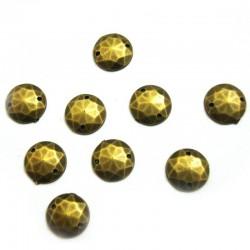 Golden Buttons - Oval (Metallic Shade)