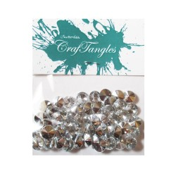 Shiny Stones - Circle (Pack of 50 stones)