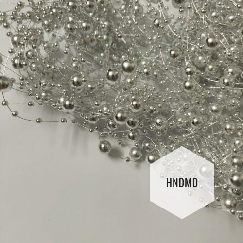 Strings of pearls - Silver
