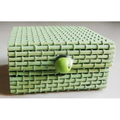 Wooden Box - Green