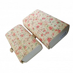 Eco Friendly Jewellery Box - Design 9 (Set of two boxes)