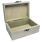 MDF wooden box (4.25 by 6.25 by 2.75 inch)