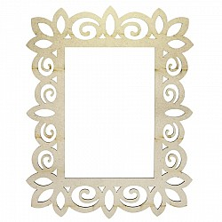 MDF Photo Frame (M3WP00A)