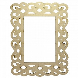 MDF Photo Frame (M3WP00C)
