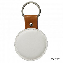 Key Chains for Decoupage - Circle