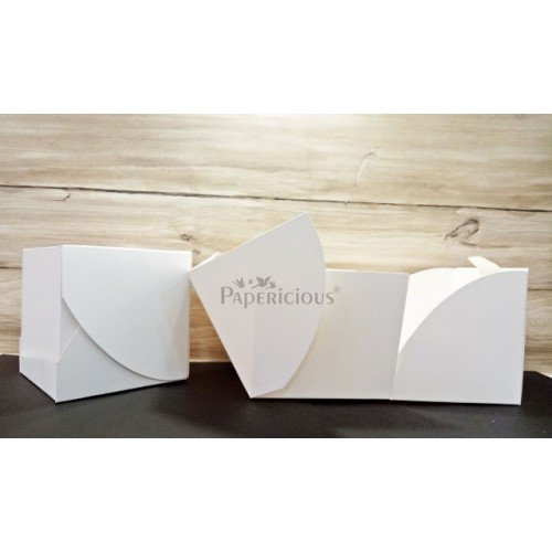 Cube Boxes - pack of 5 (Papericious Die Cut Boxes)