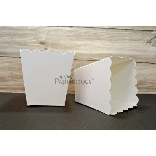 Popcorn Boxes - pack of 5 (Papericious Die Cut Boxes)