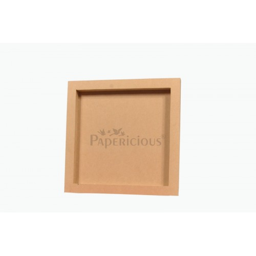 Papericious Wooden Shadow Frames (10 by 10 inch)
