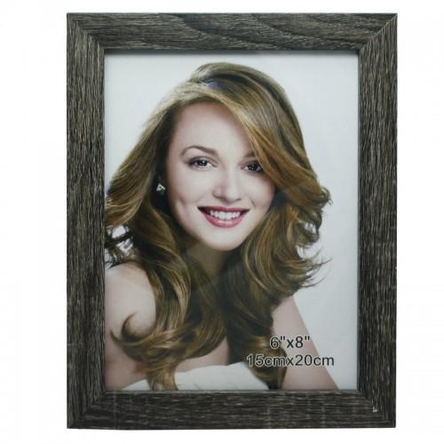 Decorative Wall photo Frame - 6 by 8 inch (DWPFWSB)