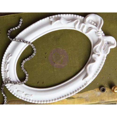 Prima Frank Garcia Memory Hardware Resin Frames - Pappillon Blanc Oval