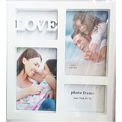 Photo Frame (White) - Love