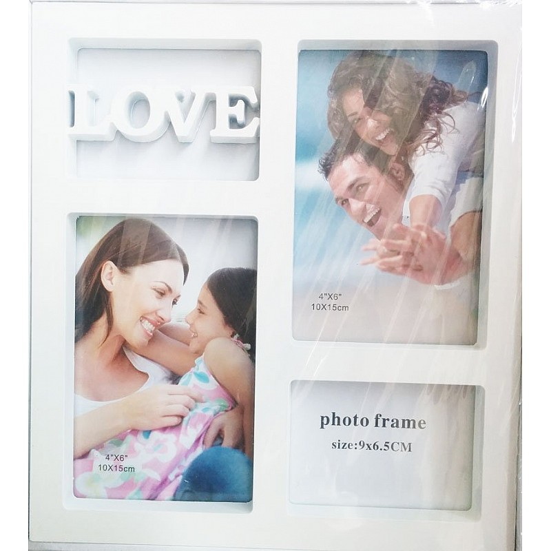 Buy Photo Frame (White) - Love online in India at best prices at HNDMD