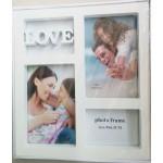 Photo Frame (White) - Love