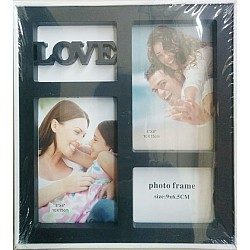 Photo Frame (Black) - Love